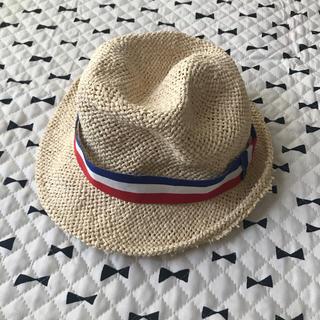 アンパサンド(ampersand)の子ども用麦わら帽子 52センチ AMPERSAND(帽子)