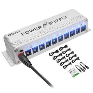 パワーサプライ 10チャネル エフェクター(エフェクター)