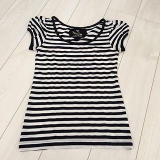 バイバイ(ByeBye)のBye Bye☆ボーダーTシャツ(Tシャツ(半袖/袖なし))