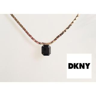DKNY ダナキャラン ブラックオニキス ネックレス
