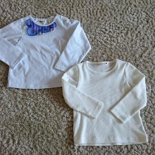 ジェモー(Gemeaux)の2回着用★90㎝長袖トップス2枚セット(Tシャツ/カットソー)