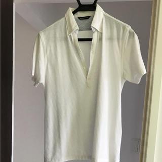 スーツカンパニー(THE SUIT COMPANY)のスーツカンパニー  白ポロシャツ (ポロシャツ)