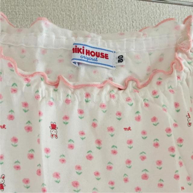 mikihouse(ミキハウス)のカットソー  ミキハウス 80    No.119 キッズ/ベビー/マタニティのベビー服(~85cm)(シャツ/カットソー)の商品写真