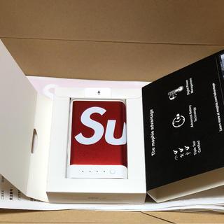 シュプリーム(Supreme)のsupreme モバイルバッテリー 10k(バッテリー/充電器)