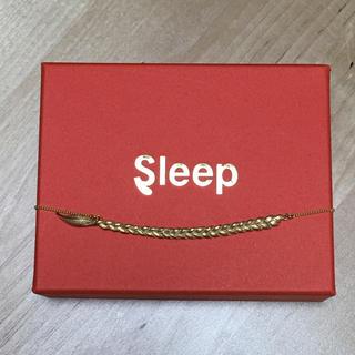 sleep 三つ編みネックレス