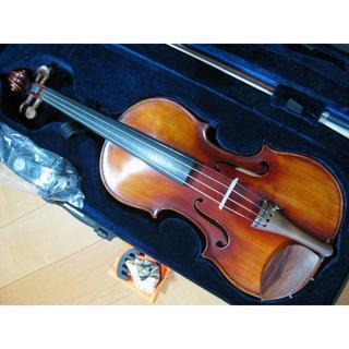 スズキ(スズキ)の高級 国産オールドバイオリン SUZUKI No.60 4/4 フルセット(ヴァイオリン)