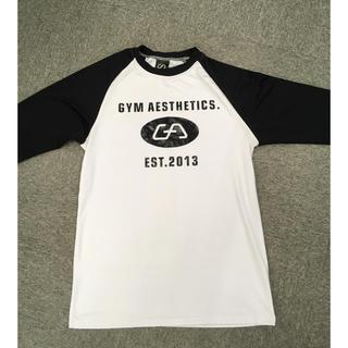 ジムマスター(GYM MASTER)の七分袖シャツ gym aesthetics size XL 試着のみ(Tシャツ/カットソー(七分/長袖))