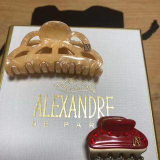 アレクサンドルドゥパリ(Alexandre de Paris)のアレクサンドル ドゥ パリ ヘアクリップ 中と小(バレッタ/ヘアクリップ)