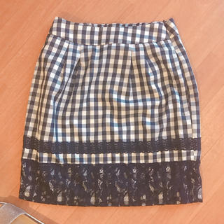 マーキュリーデュオ(MERCURYDUO)のMERCURYDUO チェック柄 スカート(ミニスカート)