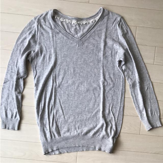 SM2(サマンサモスモス)の綿100%  カットソー 長袖 レディースのトップス(カットソー(長袖/七分))の商品写真