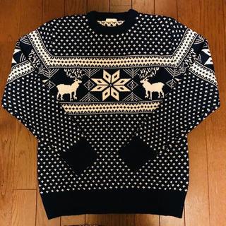 ジーユー(GU)のGU ノルディック柄セーター(ニット/セーター)