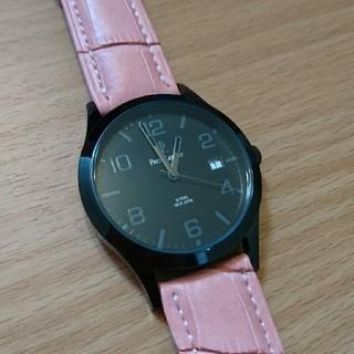ピエールラニエ(Pierre Lannier)の【美品】ピエールラニエ レザー 腕時計(腕時計)