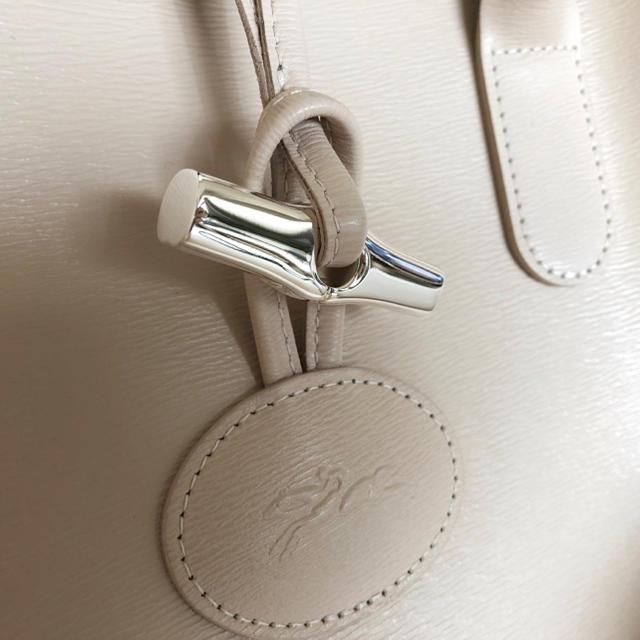 96f9229f2135 LONGCHAMP(ロンシャン)のロンシャン ロゾ アイボリー トートバック 白 レディースのバッグ(トート