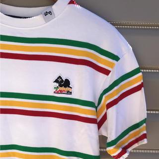 LRG グッドカラーリング ラスタボーダーTシャツ