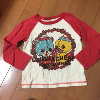 ラフアンドチープ(LAUGH & CHEAP)のキッズ 女の子 LAUGH AND CHEAP 110 長袖 Tシャツ 美品(Tシャツ/カットソー)