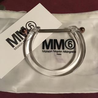 エムエムシックス(MM6)のMM6 アクリルブレスレット(ブレスレット/バングル)