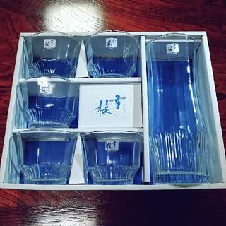 トウヨウササキガラス(東洋佐々木ガラス)の涼やか 冷茶セット(グラス/カップ)