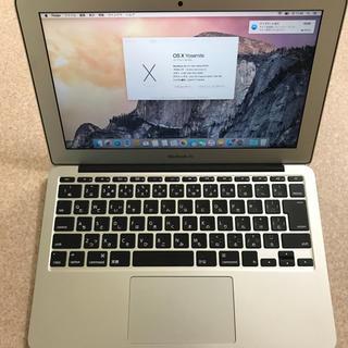 マック(Mac (Apple))の【美品】MacBook Air 2015 11inc(ノートPC)