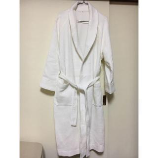 ムジルシリョウヒン(MUJI (無印良品))の無印良品 ワッフル素材 バスローブ 未使用 綿100%(ルームウェア)