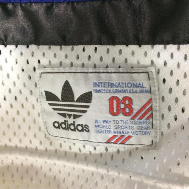 adidas(アディダス)の【期間限定格安出品】デサント製 adidasヴィンテージユニホーム 90s メンズのトップス(Tシャツ/カットソー(半袖/袖なし))の商品写真