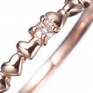 ヨンドシー(4℃)のcanal 4℃ K10 ピンキーリング(リング(指輪))