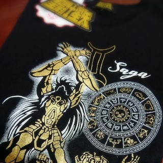 シマムラ(しまむら)の聖闘士星矢 しまむら限定 コラボTシャツ サガ メンズ Lサイズ(Tシャツ/カットソー(半袖/袖なし))
