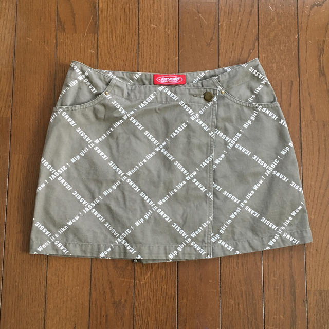 JASSIE(ジャッシー)のJassie ジャッシー★ロゴミニスカート レディースのスカート(ミニスカート)の商品写真