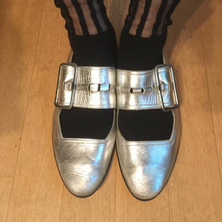 アンビリカル(UNBILICAL)のアンビリカル シルバーパンプス(ローファー/革靴)
