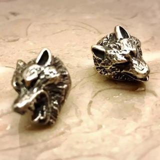 ゴッドサイズ(GODSIZE)のGODSIZE ウルフ オオカミ コンチョ 2匹(その他)