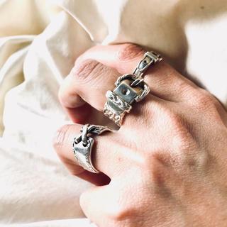 エルメス(Hermes)の最終値下げ✴︎ HERMES✴︎エルメス ベルト リング  51 925シルバー(リング(指輪))