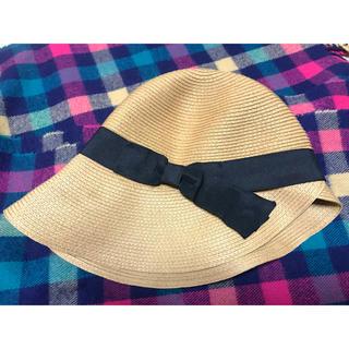 シマムラ(しまむら)の麦わら帽子 ストローハット しまむら 今月購入 新品未使用 (麦わら帽子/ストローハット)