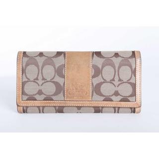b1269dda960b COACH - 本物 コーチ 長財布 正規品の通販 ラクマ