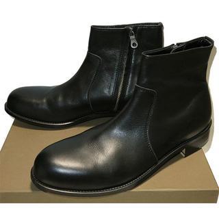 パドローネ(PADRONE)のパドローネ PADRONE サイドジップブーツ 42 新品同様 定価3.4万(ブーツ)