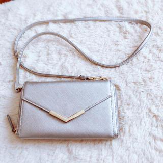 ジーユー(GU)のGU ショルダー付きウォレット ショルダーバッグ お財布バッグ(ショルダーバッグ)