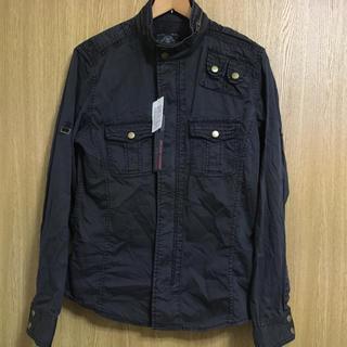 ニーキュウイチニーキュウゴーオム(291295=HOMME)の☆新品☆ミリタリーシャツジャケット(シャツ)