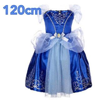 120cm♡シンデレラ♡ブルー♡ワンピース♡プリンセスドレス♡(ワンピース)