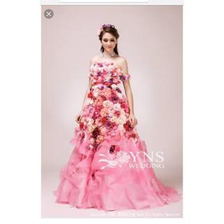 カラードレス ピンク(ウェディングドレス)