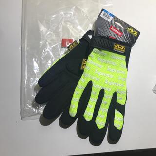 シュプリーム(Supreme)のSUPREME シュプリーム メカニクス 17SS 手袋 グローブ イエロー (手袋)