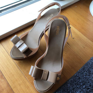 メリッサ(melissa)のメリッサ レインシューズ 23.5cm サンダル(長靴/レインシューズ)
