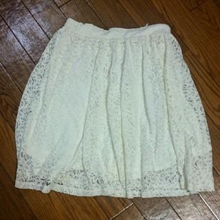 ハニーズ(HONEYS)の総レース スカート(ひざ丈スカート)