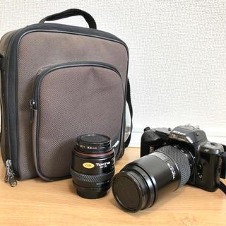 ニコン(Nikon)のカメラバッグ+レンズ2個+フィルター2個付!Nikon F-401 ジャンク品(フィルムカメラ)