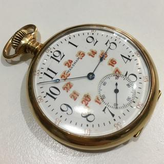 ウォルサム(Waltham)の【値下げ】K18金無垢・ウォルサム・アンティーク懐中時計(腕時計(アナログ))