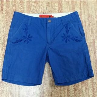 アーティズ(Artyz)のARTYZ アーティズ ハーフパンツ 36サイズ ブルー 半ズボン ハーパン(ショートパンツ)