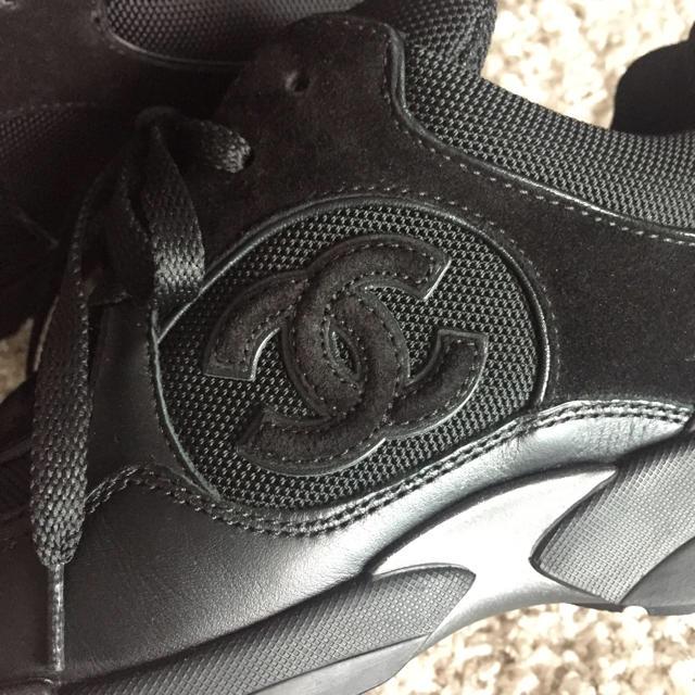 78eb10e087d1 CHANEL(シャネル)の国内シャネル 大人気スニーカー 黒ココマーク レディースの靴/