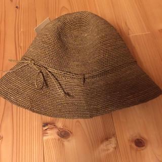ムジルシリョウヒン(MUJI (無印良品))の無印良品 ラフィアハット たためるキャペリン(麦わら帽子/ストローハット)