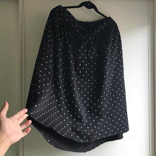 シマムラ(しまむら)の新品タグ付き 4Lウエストリボン付きスカート(ひざ丈スカート)