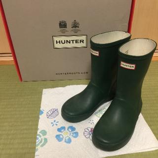 ハンター(HUNTER)のハンター キッズ UK13 レインブーツ(長靴/レインシューズ)