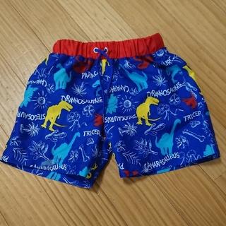 エフオーキッズ(F.O.KIDS)の男の子 水着 海パン 80 青 恐竜(水着)
