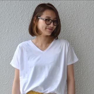 シップスフォーウィメン(SHIPS for women)のSHIPS ソフトコットン VネックTシャツ(Tシャツ(半袖/袖なし))