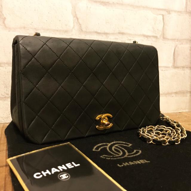 0e06063796fb CHANEL(シャネル)の正規☆シャネル ビンテージマトラッセ チェーンショルダーバッグ レディースのバッグ